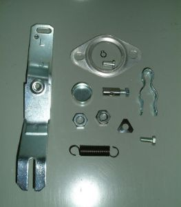 Heat exchanger fitting and lever kit, Left
